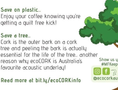 ecoCORK partners with local distributor, Marques Flooring to make eco KEEP CUPS!